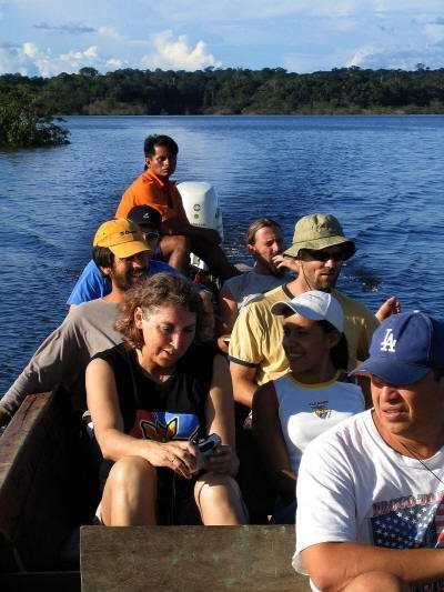 Ecuador Facts and Culture: Cuyabeno Wildlife Reserve visitors