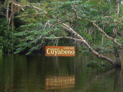 Cuyabeno Rainforest Lodge Sign