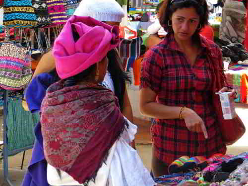 Otavalo Indian Market: great gifts