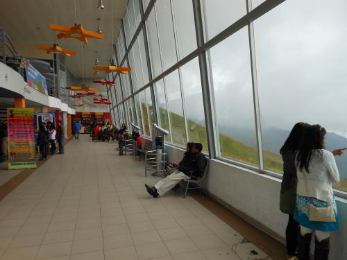 TOP 20 BEZIENSWAARDIGHEDEN QUITO, ECUADOR:Mountain Station, Pichincha Cable Cart