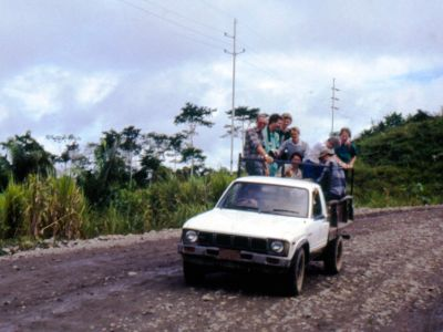 AMAZON RIVER HISTORY & INTERESTING FACTS [ECUADOR]: Adventurous ride on the first ecotour to Cuyabeno in 1986.