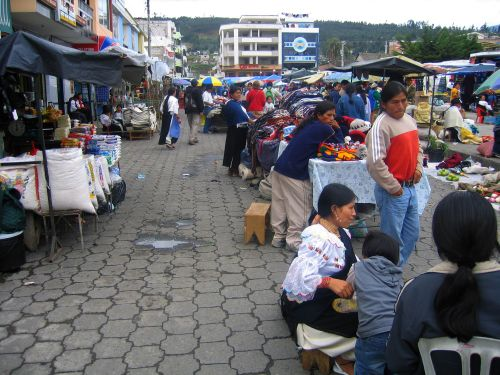 Otavalo Indian Market: Indian craft