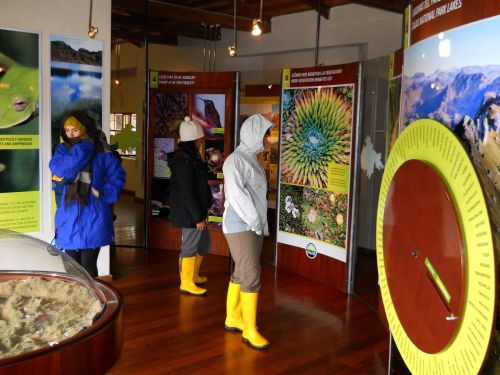 TOP 10 FAMOUS PLACES TO VISIT IN ECUADOR: Visitor Center at National Park Cajas, Ecuador