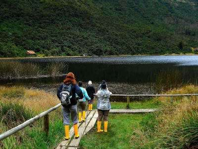 TAGESTOUREN DURCH CAJAS NATIONALPARK: Besucher Cajas Nationalpark